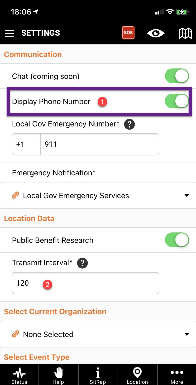 Pubsafe public safety mobile app user information